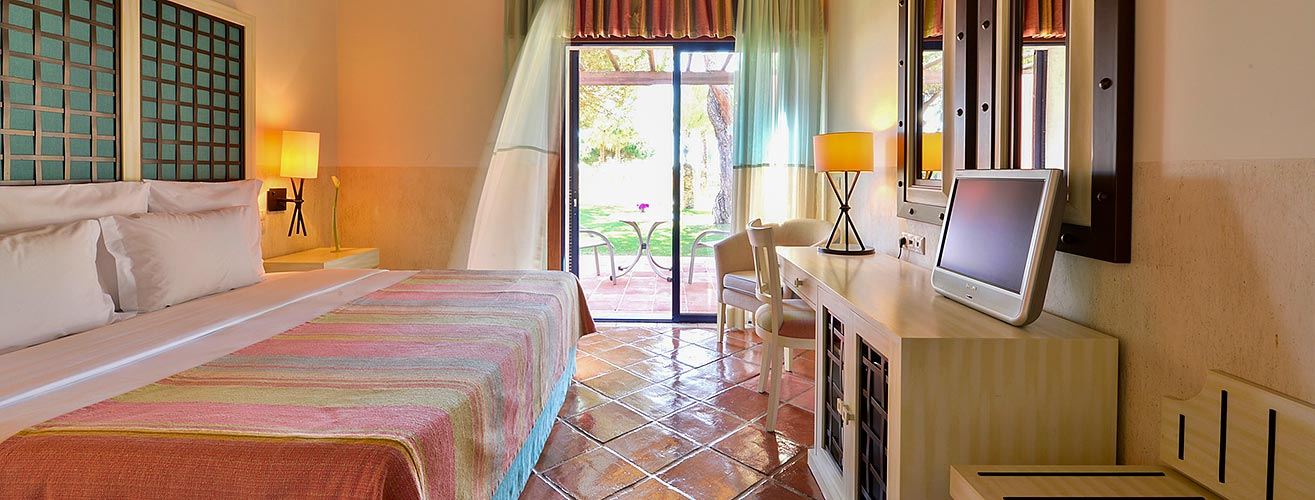 rooms and suites at the pestana vila sol golf and resort hotel